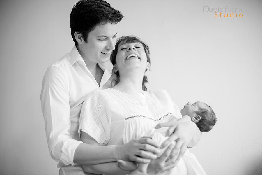 photos de bébé à domicile