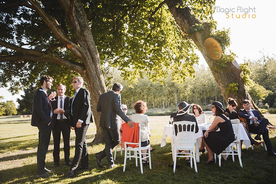 mariage au chateau des briottieres