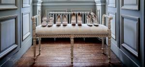 les chaussures des témoins