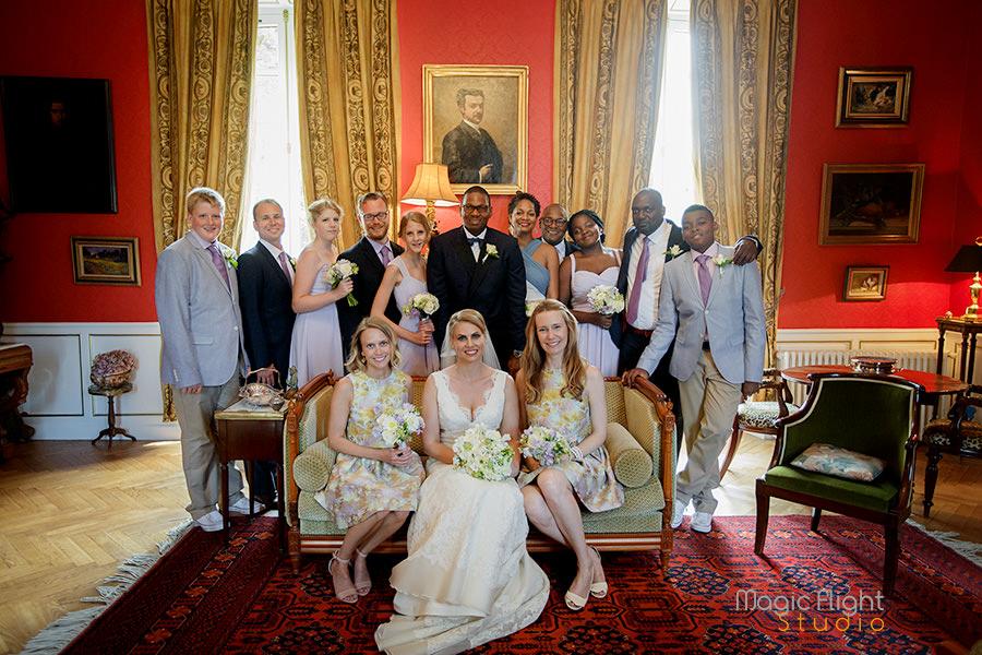 mariage au chateau de sauchay, photo à Dieppe