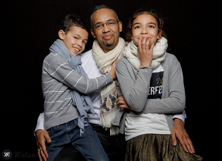 Photos de famille en studio 9