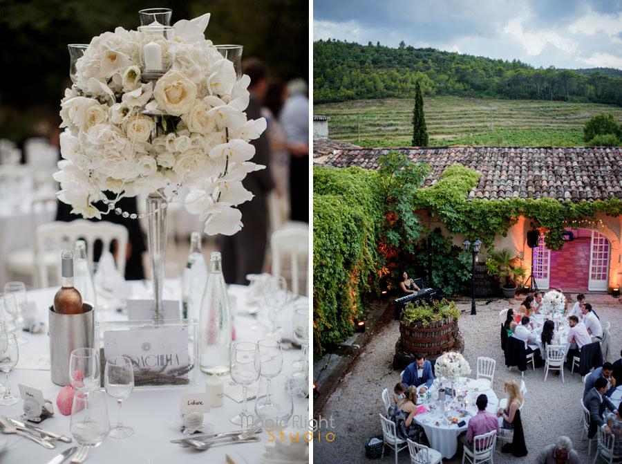 reportage mariage au chateau robernier