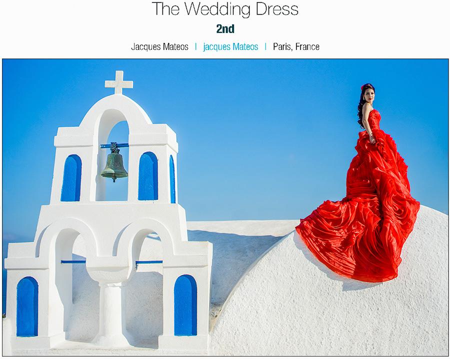 2 photos placées au dernier concours de photos de mariage ISPWP