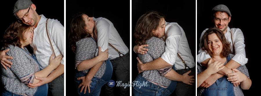 photos de grossesse en studio