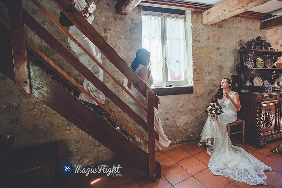 un mariage fun a chateau santout