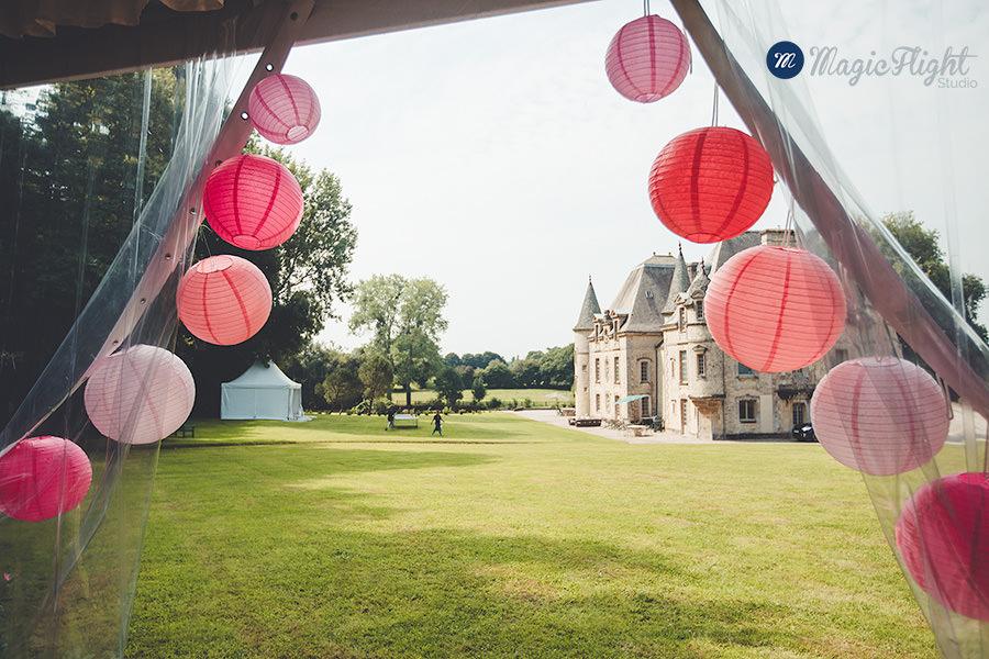 Mariage au chateau de Servigny 1