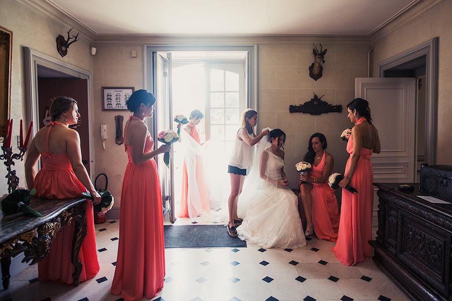 Mariage au chateau de Servigny 22