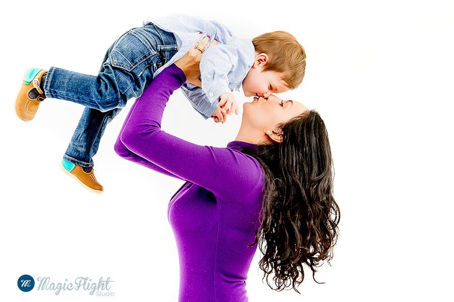 Portrait d'enfant en famille 1