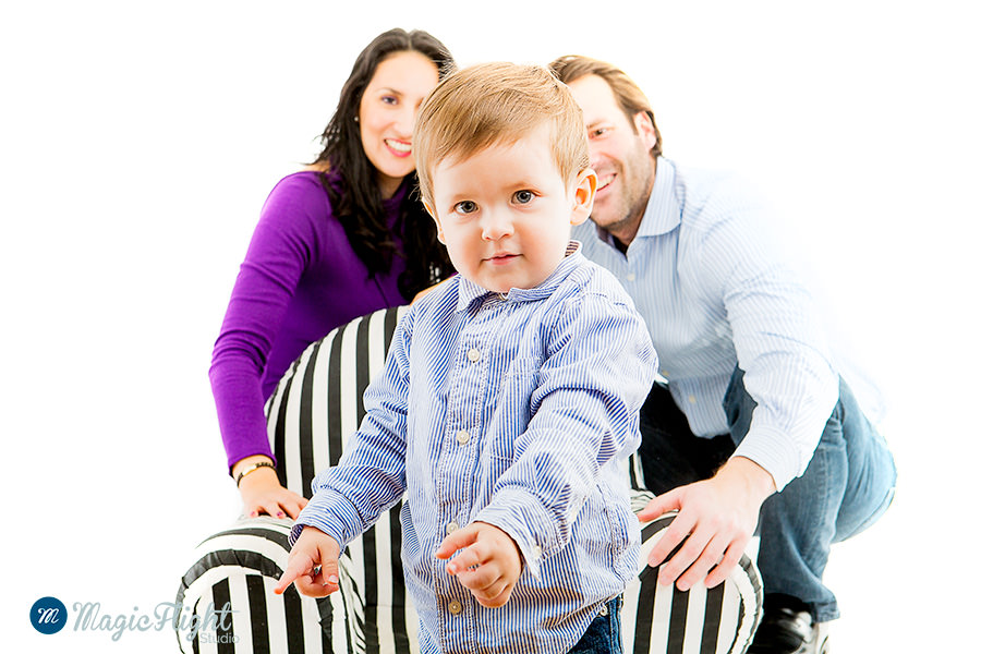 Portrait d'enfant en famille 5