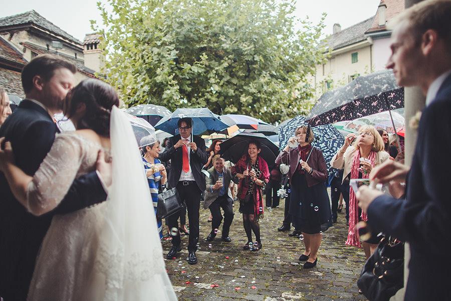 Mariage à Vevey, Suisse 9