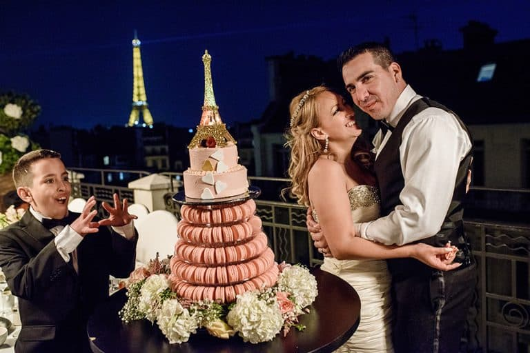 Mariage à l'église américaine de Paris 13
