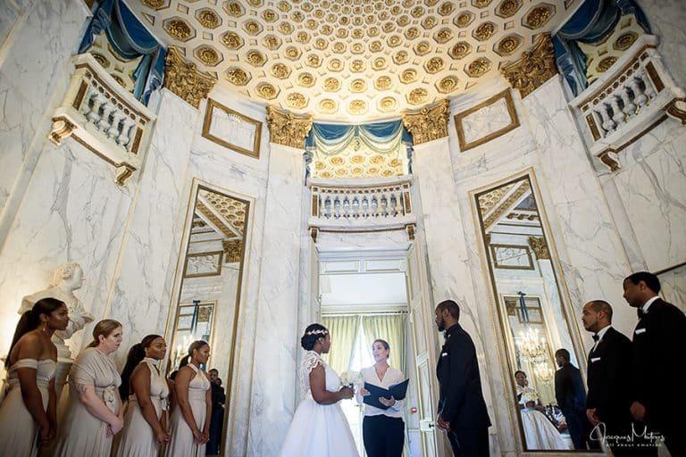 mariage au Pavillon de la Dubarry, Paris 11