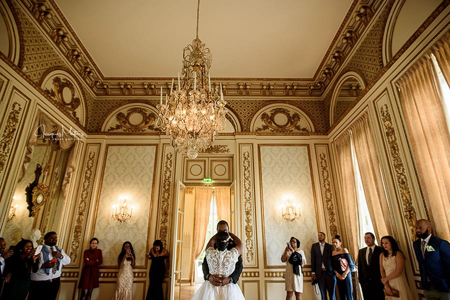 mariage au Pavillon de la Dubarry, Paris 16
