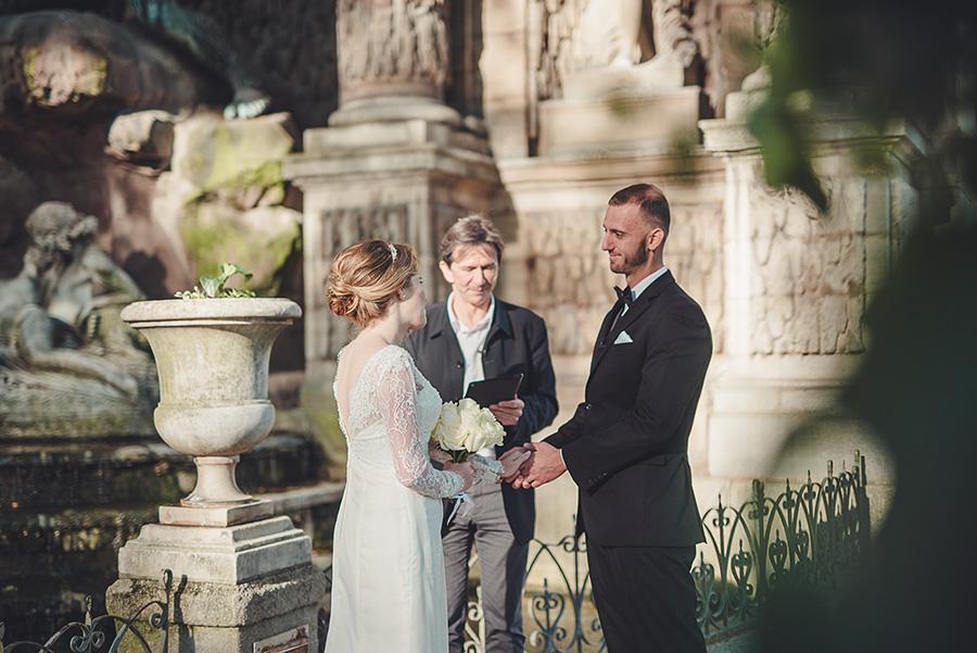 Mariage très intime à Paris 2