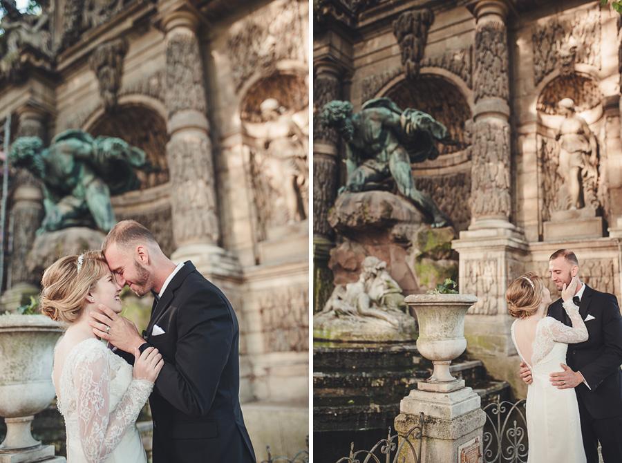 Mariage très intime à Paris 6