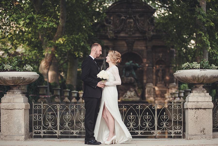 Mariage très intime à Paris 7