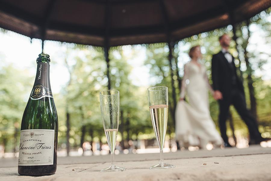 Mariage très intime à Paris 10