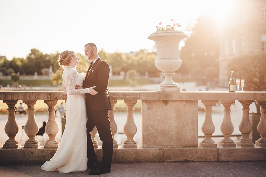 Mariage très intime à Paris 13