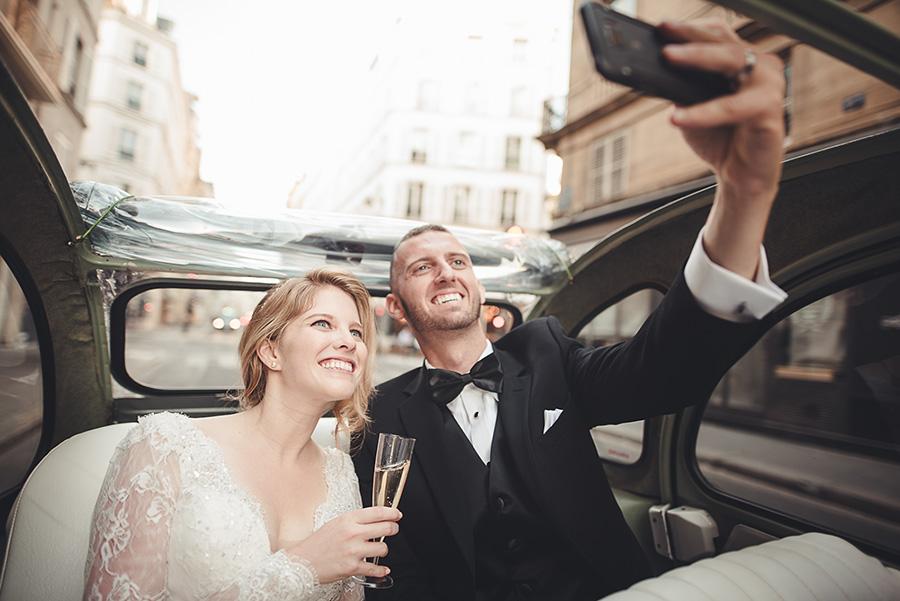 Mariage très intime à Paris 14