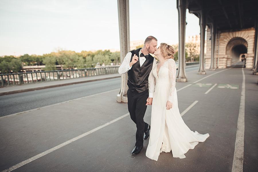 Mariage très intime à Paris 16