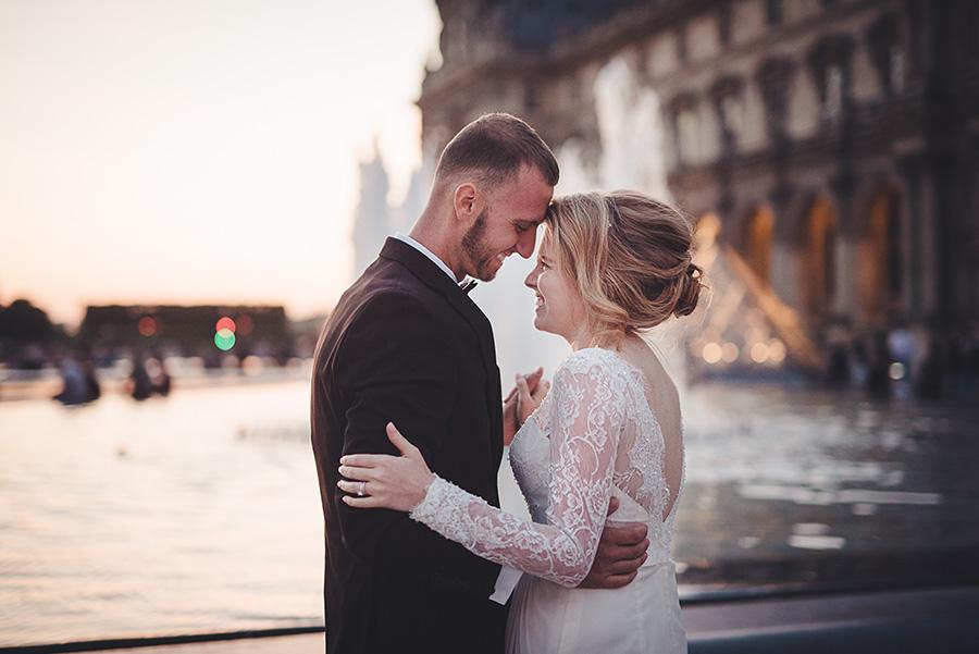 Mariage très intime à Paris 19