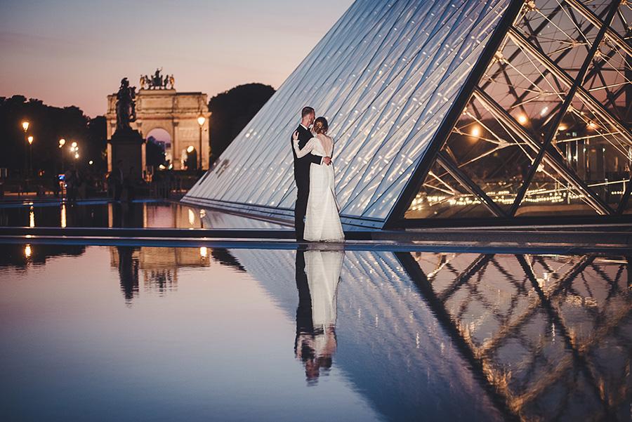 Mariage très intime à Paris 20