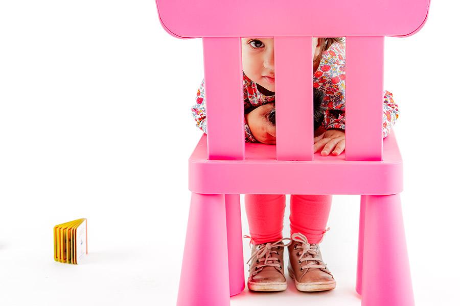 séance photo enfant en studio à Paris