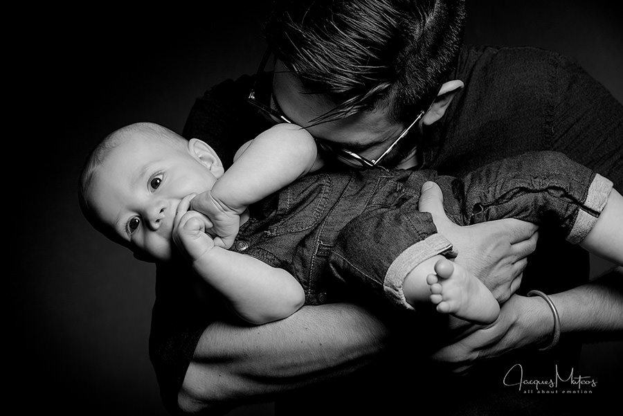 photographe famille paris en studio