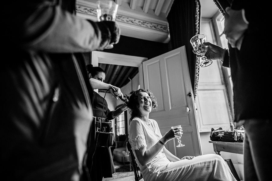 Mariage intime en Bourgogne 2