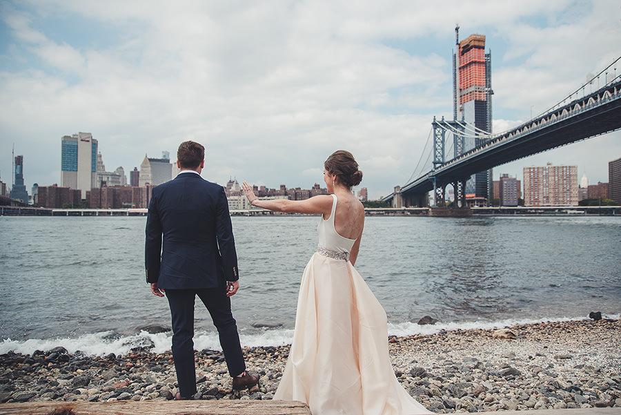 Mariage à Brooklyn, NYC