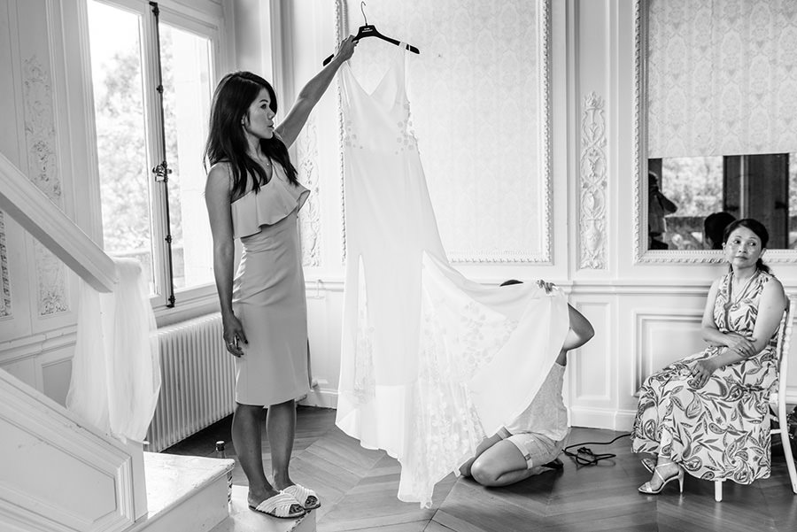 Mariage au château de Meridon, Paris 1