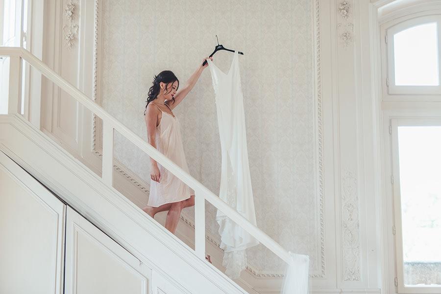 préparation des mariés
