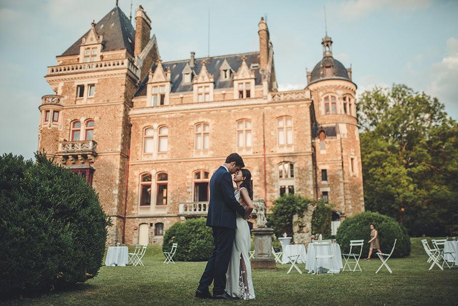 soirée de mariage au chateau de meridon