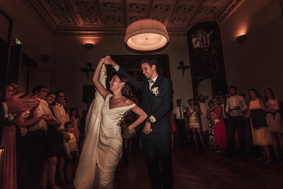 ouverture du bal mariage au chateau de meridon