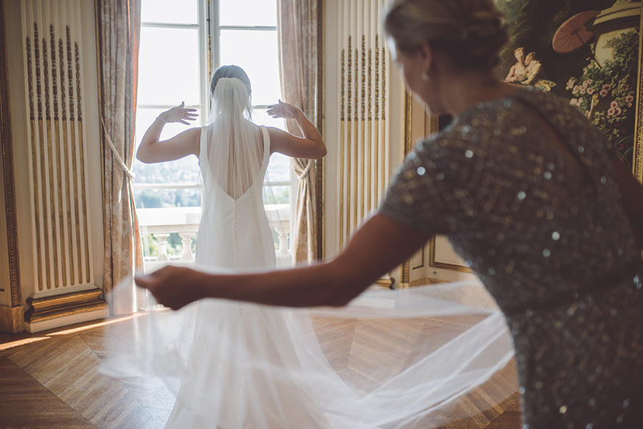 Mariage intime à Paris 7