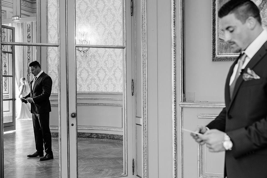 Mariage intime à Paris 9