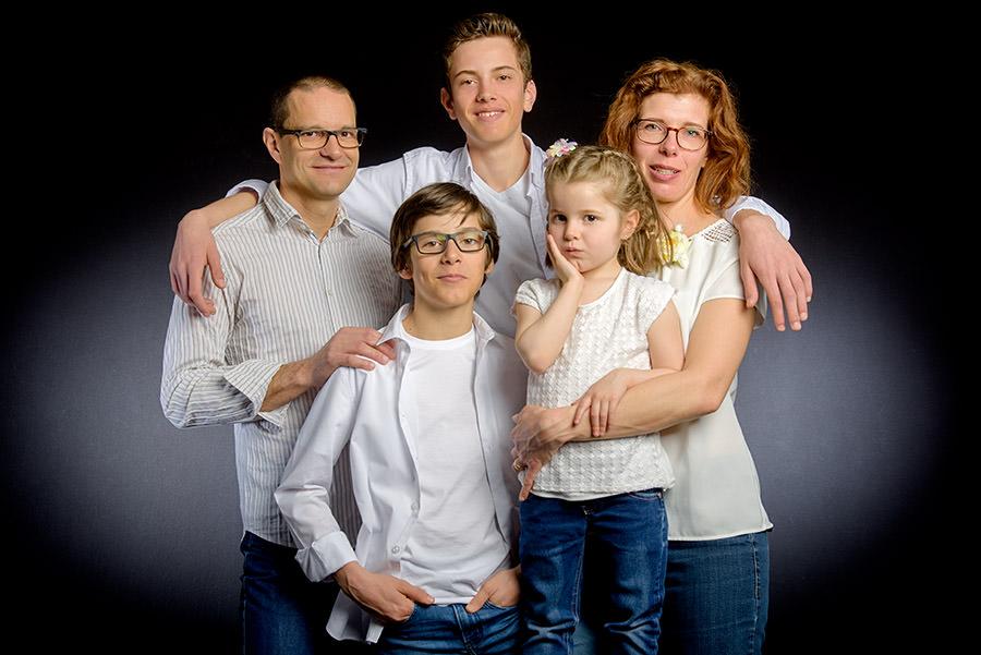 photo des parents et leurs enfants