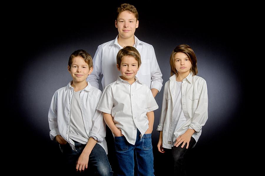 Les petits enfants des 2 sous famille
