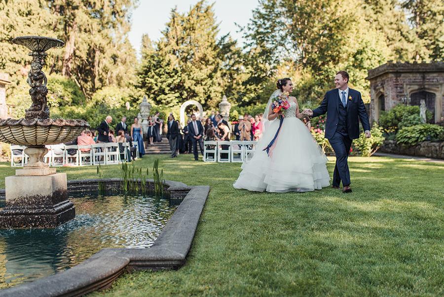 Mariage au Chateau Thornewood, Seattle 33