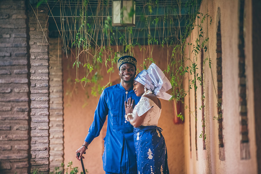 Photos de couple au Jardin Majorelle | Marrakech 4