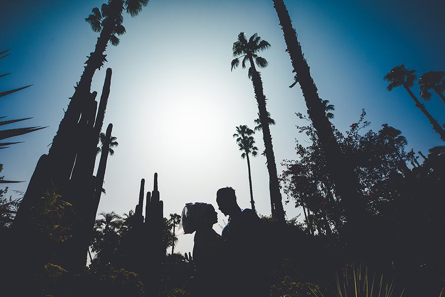 Photos de couple au Jardin Majorelle | Marrakech 13