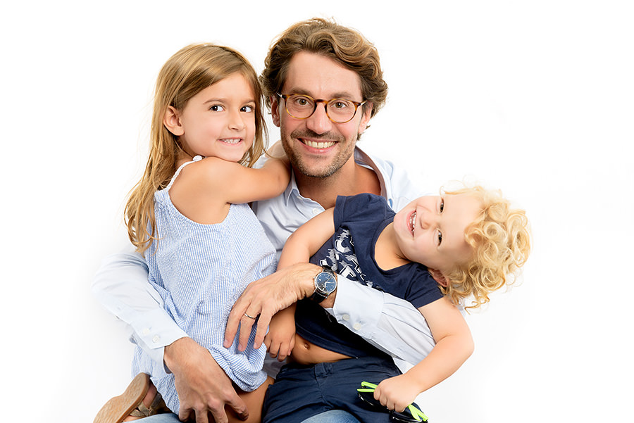 photos de famille en studio à Paris