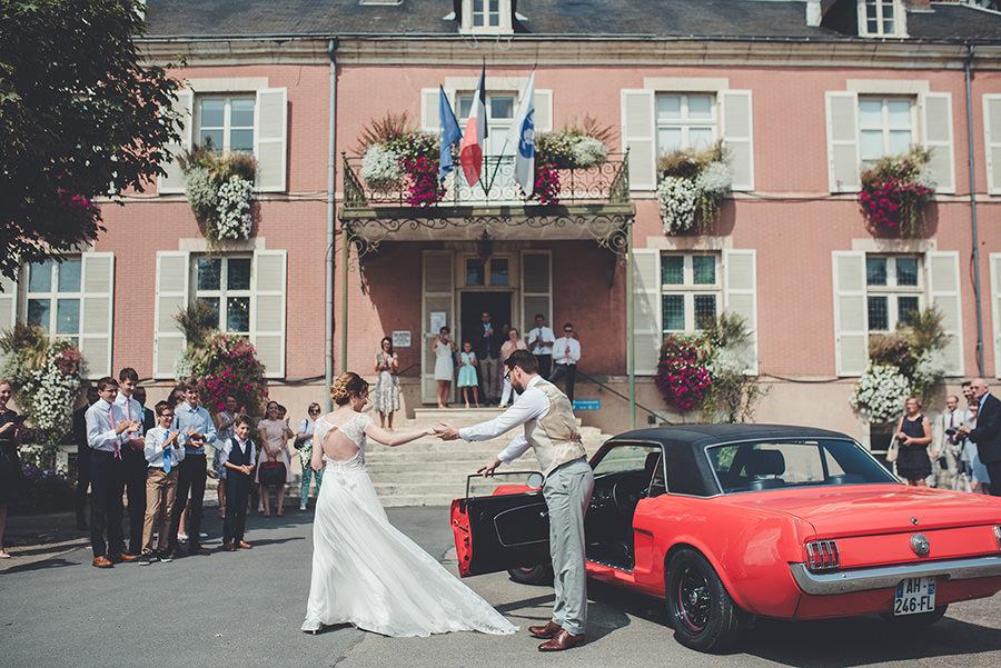 mariage au chateau de la ferté saint aubin
