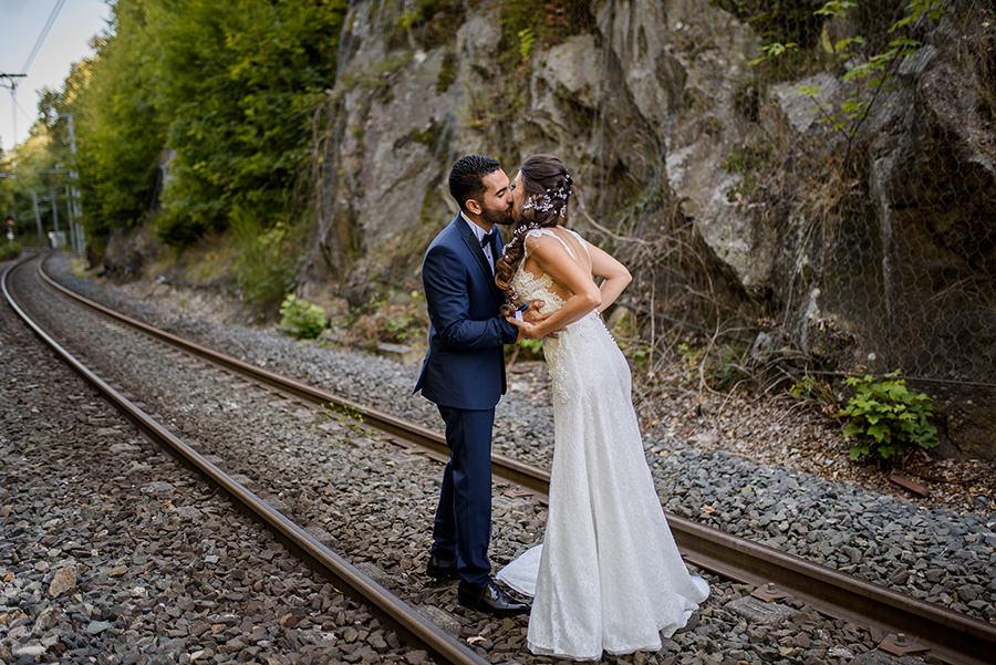 mariage au domaine du lyon vert