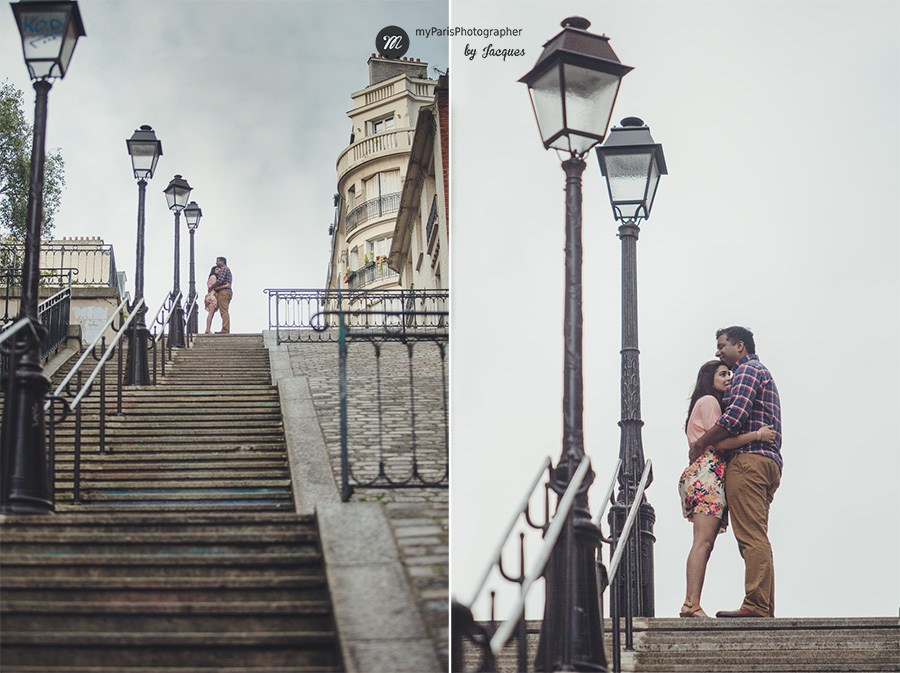 Montmartre et ses escaliers