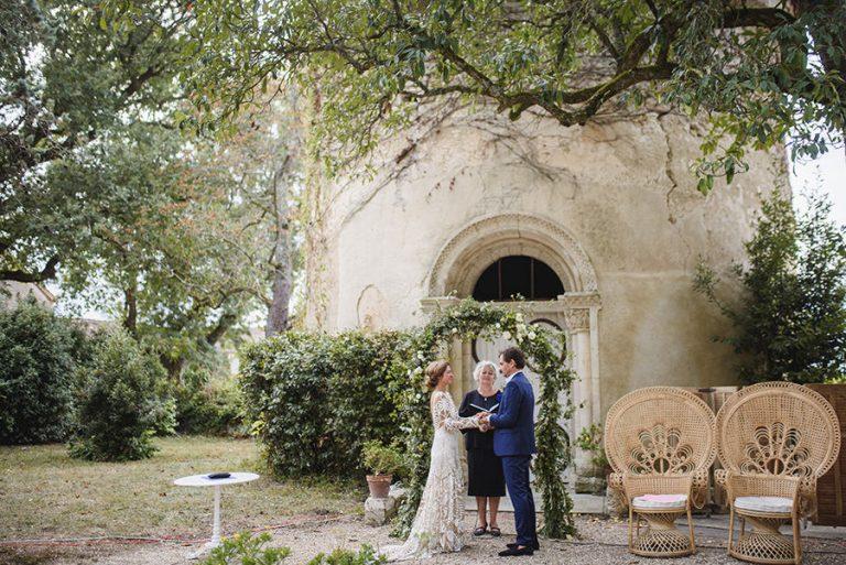mariage au chateau de Malliac