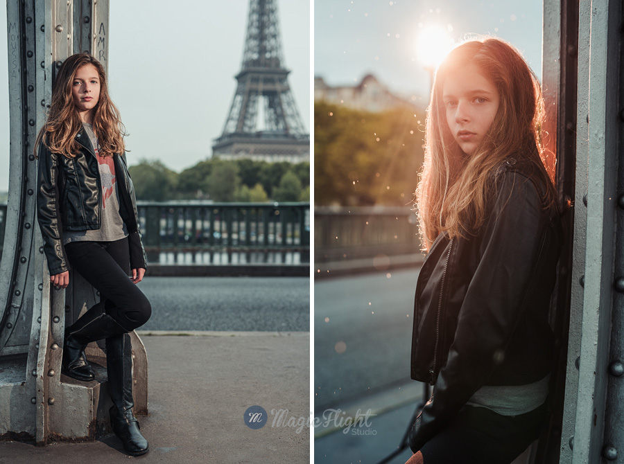 shooting enfant à Paris pour book