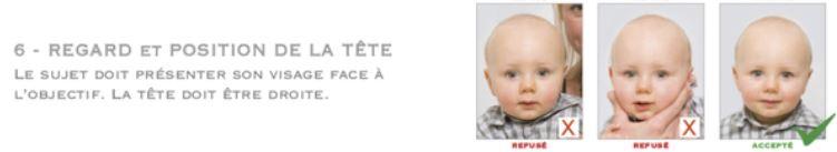 Photos d'identité de bébé, le casse tête 1