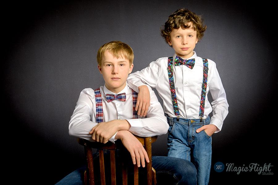 photographe de famille en studio