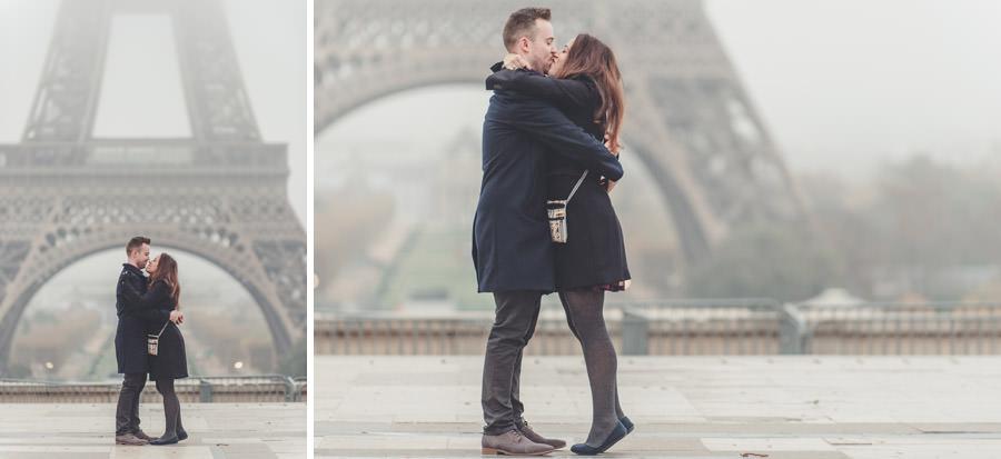 Demande en mariage à Paris 3